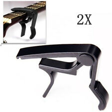 2X Quick Change Tune Clamp Key Trigger Capo for Acoustic Electric Guitar USStock