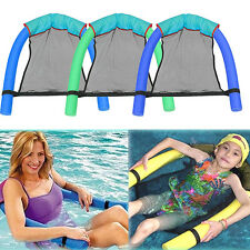 Swimming Pool Noodle Seats Sling Floating Fun Chair Adult Kid Child  Design New