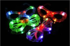 LED Light-Up Flashing Shutter Retro Glasses Party Shades for kids -Spider