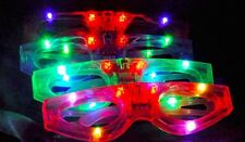 LED Light-Up Flashing Shutter Retro Glasses Party Shades for kids Assorted Color