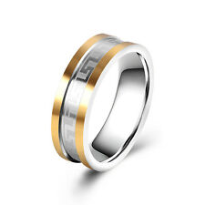 Fashion Mens Jewelry Stainless Steel band Ring Size 8 9 10 11 Wholesale
