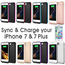 7000mAh External Backup Battery Charger Power Bank Cover Case For iPhone 7 Plus