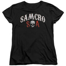 Sons of Anarchy SOA SAMCRO FOREVER Licensed Women's T-Shirt All Sizes