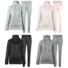 Womens Ladies MissPap Two Piece Ponte Hooded Tracksuit Joggers Hoodie (UK 6-14)
