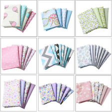 100% Cotton Fabric Patchwork Sewing Baby Doll Clothes Pillow Bags Handmade DIY