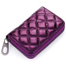 Women Genuine Leather Credit Card Bag ID Card Bags Small Coin Purse Wallet