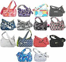 NWT BRAND NEW Original Ju Ju Be Hobo Be Messenger Diaper Bag Choose Your Color