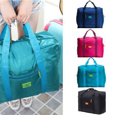 Portable Nylon Duffle Luggage Clothes Storage Bag Big Durable Travel Luggage Bag