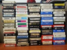 Classic Rock & Pop 8 Track Tapes Choose 5 or More for Free Shipping
