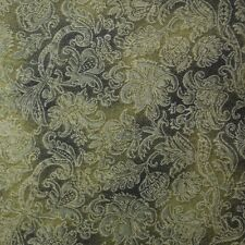 Quilt Fabric Cotton Calico Quilting Green Tonal Floral: FQ or Cut-to-Order