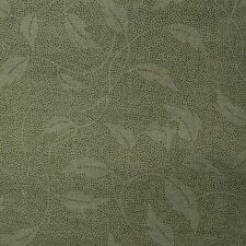 Quilt Fabric Cotton Calico Quilting Green Tonal Leaf Print by RJR: FQ 17x20