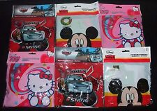 NEW DISNEY CARS, MICKEY MOUSE & HELLO KITTY ARMBANDS OR SWIM RINGS FREE DELIVERY