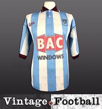 Bukta West Ham United Away Football Shirt Kit Top 1990/91 (Size: M) WHUFC