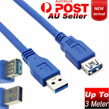 SuperSpeed USB 3.0 Male to Female Data Extension Cable PC Laptop Lead 1M 1.8M 3M