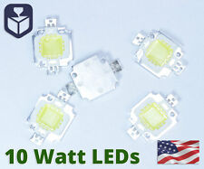 10W LED High Power chip Red Green Blue White - 10 Watt Lamp LED DIY USA Seller!