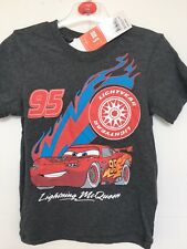 BNWT Pixar Disney Cars. Lightning McQueen T Shirt. Boys.  Age 4-10 Years