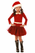 Ooh La La Couture Red  ivory Girls Mary Jane Holiday Christmas Dress NWT 3T 4T 4