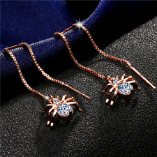 Long Earrings Spider Shaped Gift Fashion Earrings For Women 1Pair Jewelry