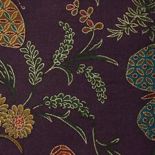 Quilt Fabric Purple Print--Oriental Gardens by Artistic Expressions FQ or BTY