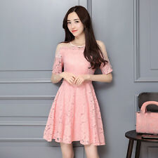 new summer Korean fashion elegant temperament sexy Bud silk shitsuke  Ms. dress