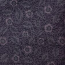 Quilt Fabric Calico Purple Tonal Floral by David Textiles: FQ or Cut-to-Order