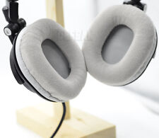 Gray Velour Ear pads cushion for Audio technica ATH-M50 M50S M50X M40 M40S M40X