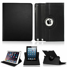 [Auto Sleep/Wake]New Smart Stand Leather Case Snap-on Cover For Apple iPad 2/3/4