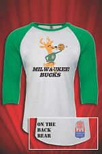 Milwaukee Bucks ABA Basketball tee t-shirt FREE S&H Defunct Sports Team