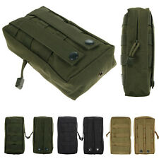 1000D MOLLE Utility Tactical Waist Pouch Bag Sport Military Hunting Medical Pack
