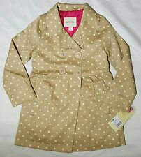Girls Polka Dot Trench Coat Cherokee 3T 4T