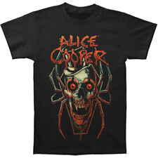 Alice Cooper Men's  Skull Spider T-shirt Black