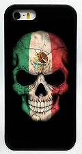 MEXICO SKULL SKELETON FLAG PHONE CASE COVER FOR IPHONE 7 6S 6 PLUS 5 5S 5SE 5C 4
