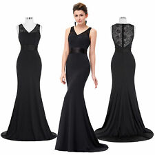 Women Long Lace Cocktail Evening Party Prom Formal Bridesmaid Banquet Hot Dress