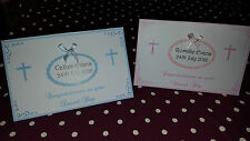 PERSONALISED CHRISTENING GIFT MONEY/VOUCHER/CHEQUE WALLET