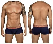 Clever 2316 Old School Open Fly Boxer Briefs Color Blue