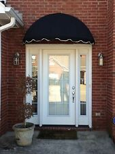 EasyAwn Dome Canvas Window or Door Awning Canopy with 7 Yr Warranty
