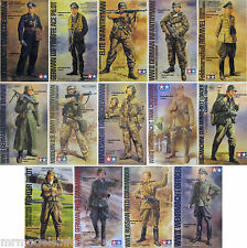 Tamiya  1/16  Figure  New  Plastic  Model  Kit  Figures 1 16