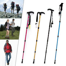Trekking Walking Hiking Sticks Poles Alpenstock anti-shock Snowshoe 4 Colors