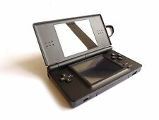 NINTENDO DS LITE BLACK CONSOLE BUNDLE WITH GAMES & CASE & CHARGER & STYLUS