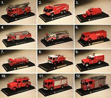 del Prado - fire-fighting vehicles the world-collection collection model fire