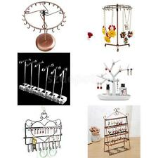 Jewelry Earrings Necklace Display Tree Stand Organizer Hanging Holder Rack