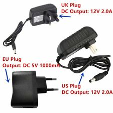 DC 5/12V 0.1/2A AC Adapter Power Supply Transformer For professional Home Used O