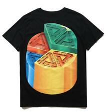 Fashion Men's palace Stitching Allocation Tee Pattern Summer Casual T-Shirt New