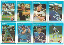 1987 Fleer Update Complete Team Set from Factory Set 17 Available XRC Rookie RC