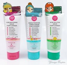 NEW CATHY DOLL SERUM FACIAL FOAM CLEANSER WHITENING OIL-CONTROL PORE TIGHTENING