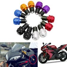 "1pair 7/8"" Motorcycle Anti Vibration Handle Bar End Plug Grip Ends Caps 22mm"