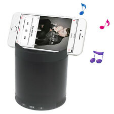 Multi-function Wireless Bluetooth Speaker with Mic Stand Support FM/TF/AUX Input