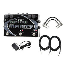 Pigtronix SPL Infinity Looper Pedal with Cables and Power Supply