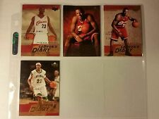 Lebron James Cleveland Cavaliers Lebron's Diary Card Upper Deck Card Mint NEW
