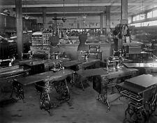 Singer Sewing Machines, Oppenheimer's, DC, Early 1900s,  Fine Art Photo Print